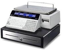 Cash Register Scale - Scale with Cash Drawer