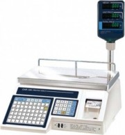Label Printing Scale with Pole Display